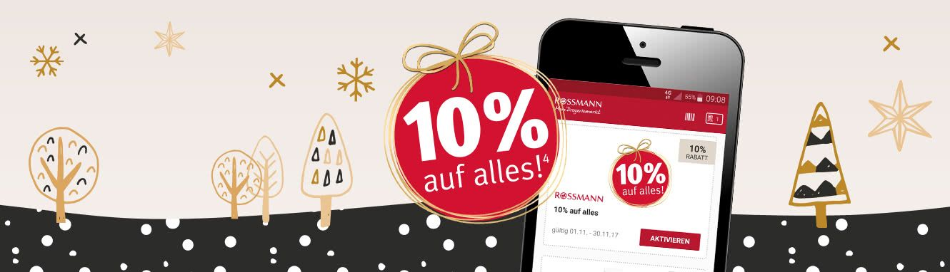 rossmann app angebote coupons mehr kostenlos laden. Black Bedroom Furniture Sets. Home Design Ideas